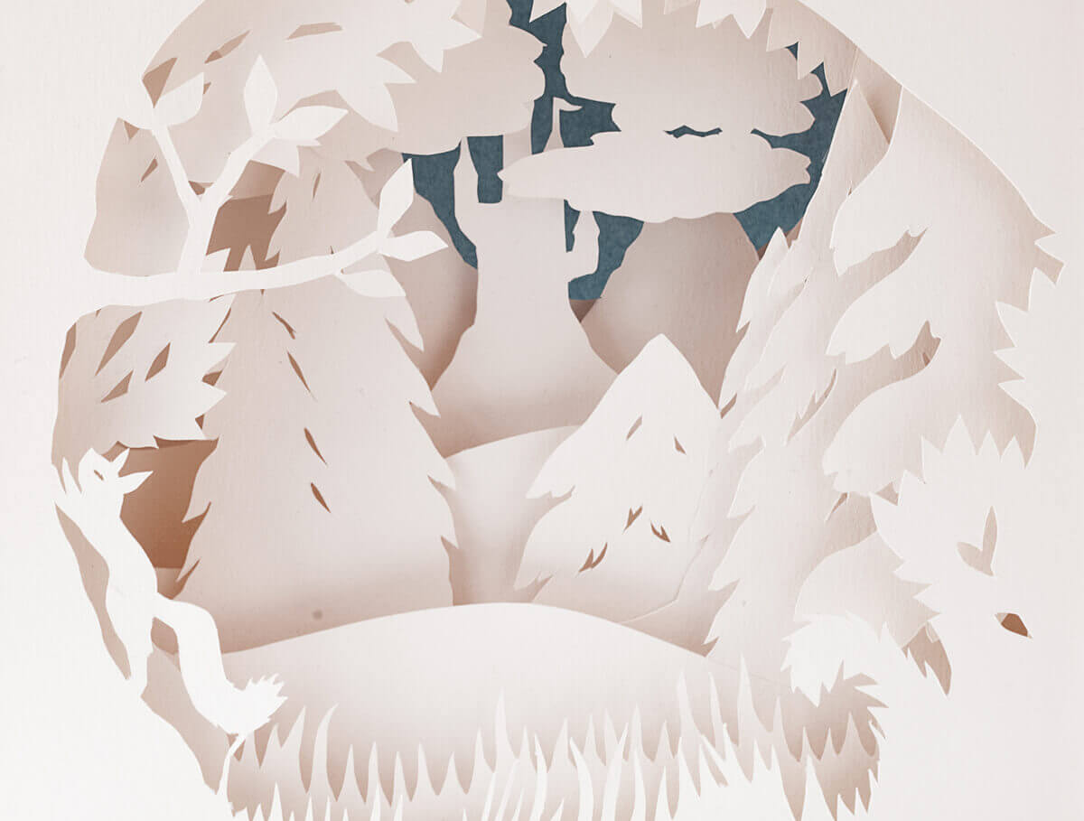 Paper art Anna Hedenrud