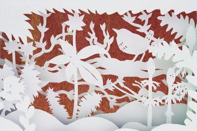 Paper art Cutout Anna Hedenrud