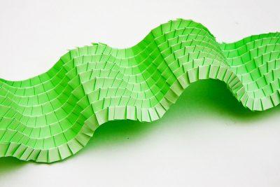 Paperart Geometri Grönväg Anna Hedenrud