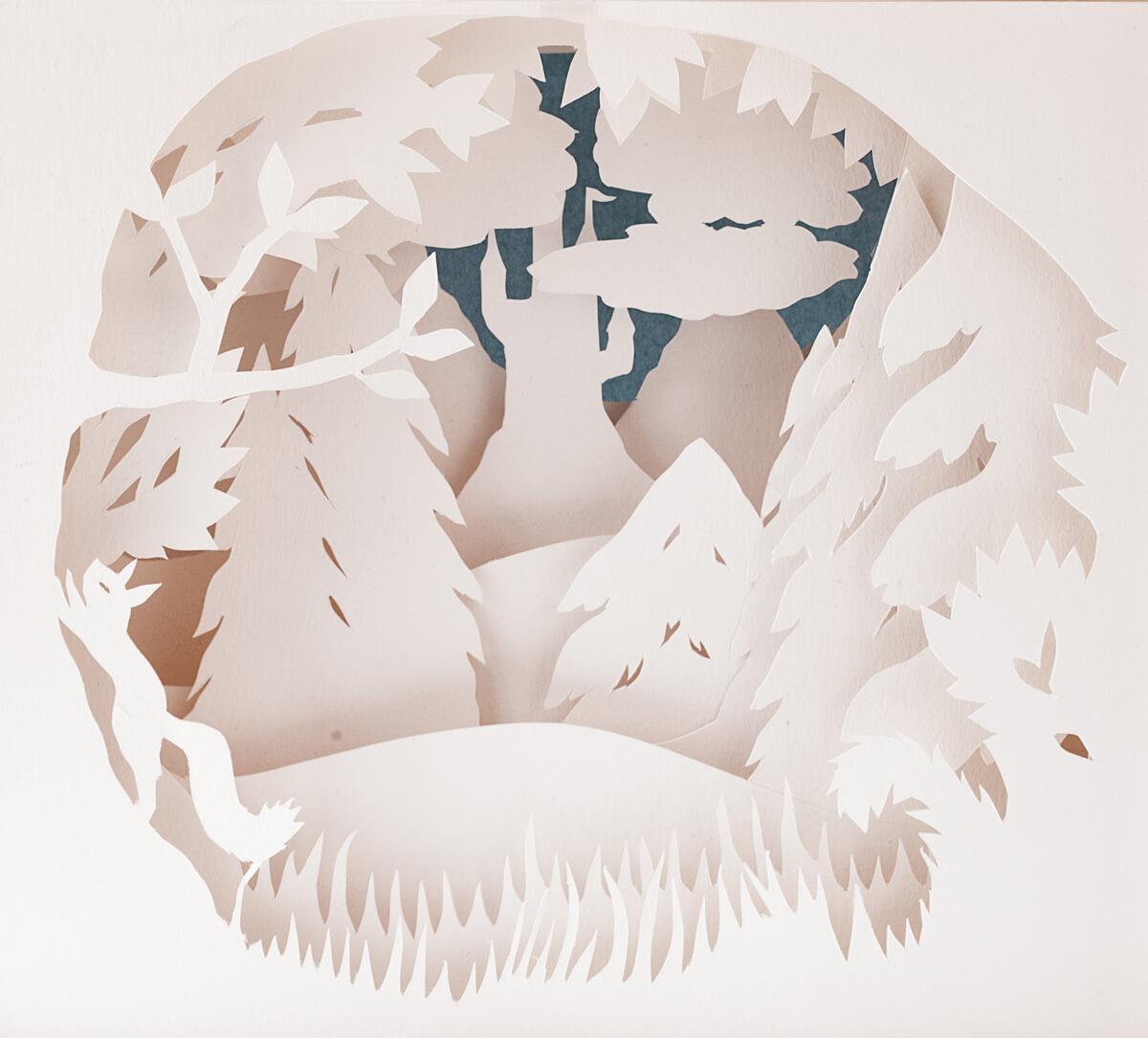 Paper Art Hanami Anna Hedenrud